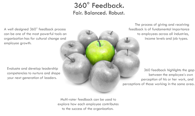 "360 degree feedback and its implementation Implementation of the 360 degree feedback process into pmp course within the  scope of this implementation, a ""leadership competency questionnaire"" was."